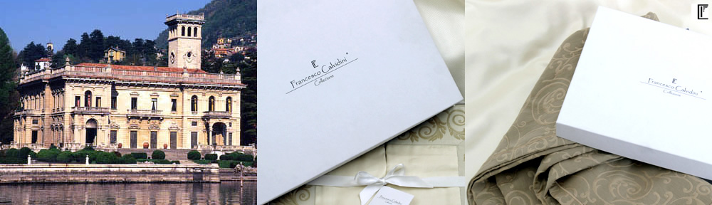 About Francesco Calvidini - Italian high count egyptian cotton bedlinen